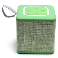 S1016 Cube Portable Bluetooth Speaker Green-1000x1000